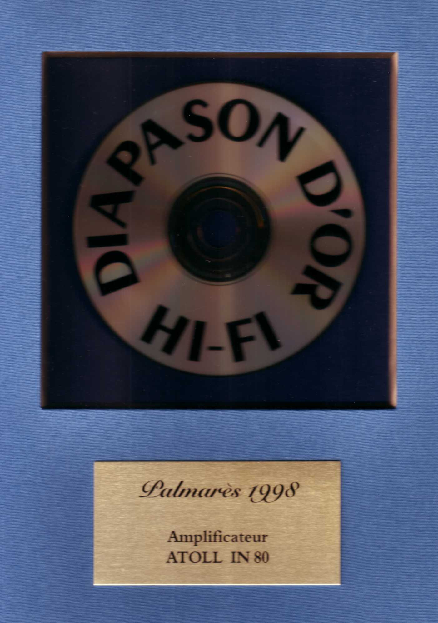 DIAPASON OR IN80
